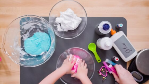 How To Make Slime With Shaving Cream and Glue
